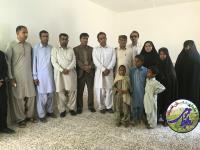 افتتاح مسکن مددجویی کمیته امداد قصرقند در هفته دولت 96
